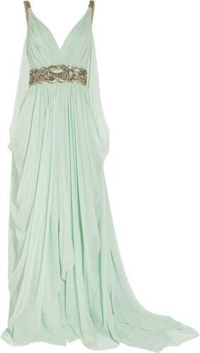 Vestido estilo grego by Marchesa.