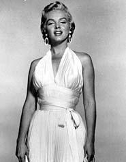 Белое платье мерлин монро фото