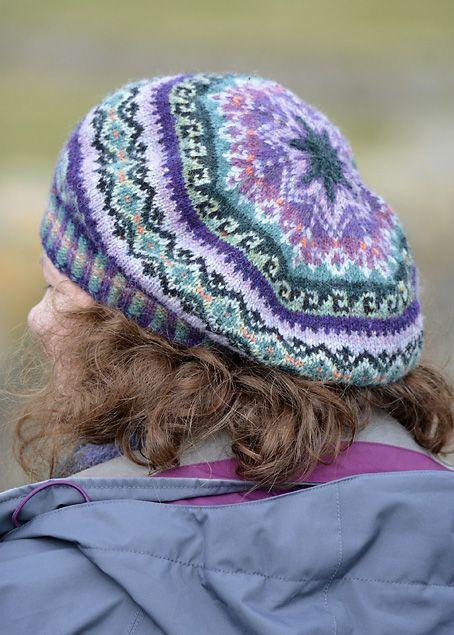Fair Isle Knitting Hat : Sumburgh lighthouse and my tam fair isles knit hats