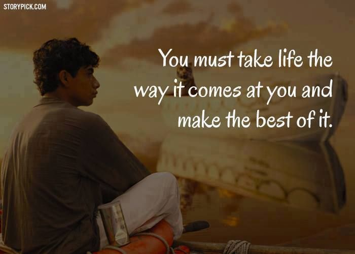 1000+ Life Of Pi Quotes On Pinterest