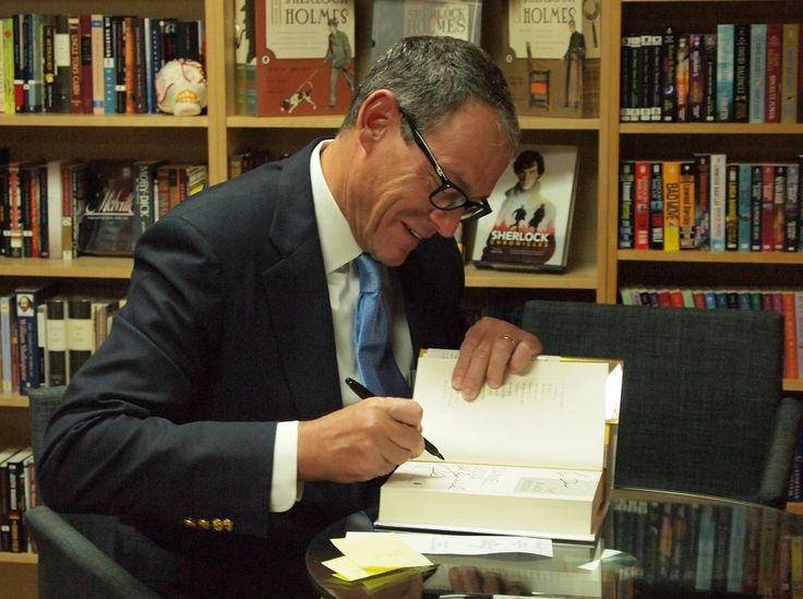 Daniel silva signing books july 2016 with images