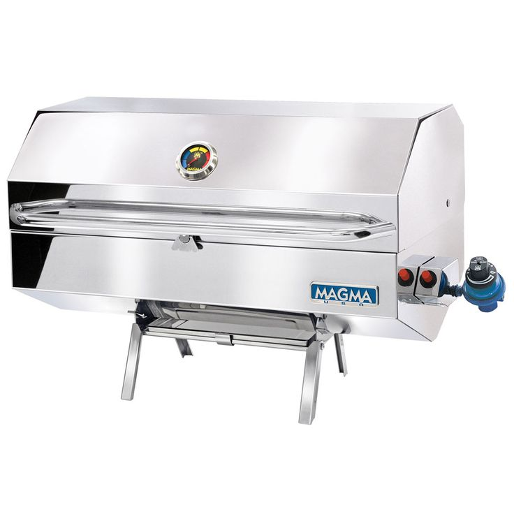 Magma Monterey Gourmet Series Gas Grill - https://www.boatpartsforless.com/shop/magma-monterey-gourmet-series-gas-grill/
