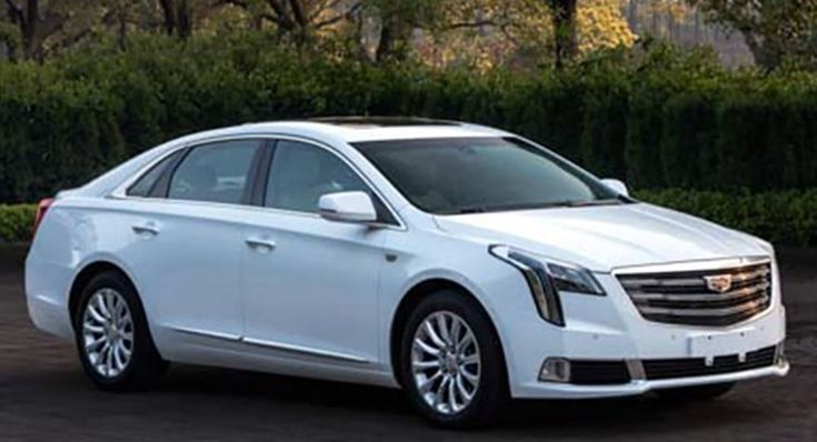 Revised 2018 Cadillac XTS Shows Its New Face In China