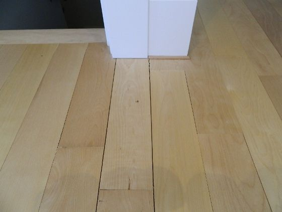 Avoid American Beech as it is not dimensionally stable. This can cause gaps between the flooring pieces.