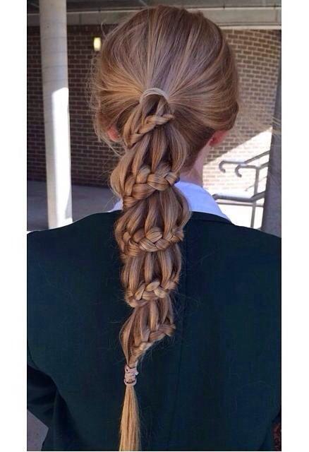 So creative #braid #hair #beauty #style