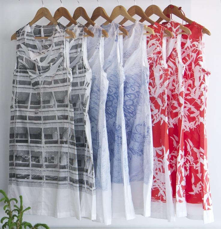 Beautiful Hand Screen Printed Dresses