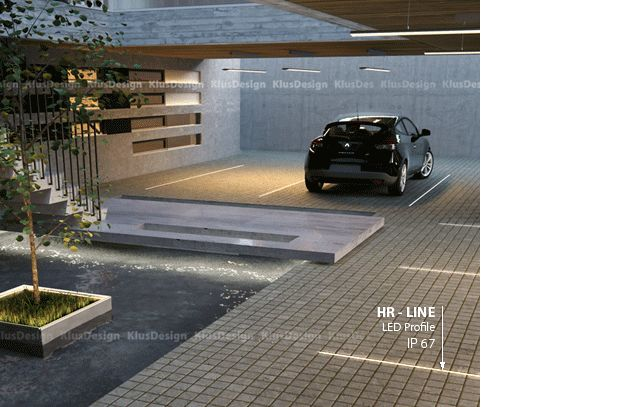 LED Driveway and Parking lot lighting