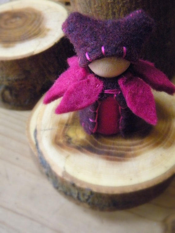 Waldorf Peg Doll  by MamaWestWind