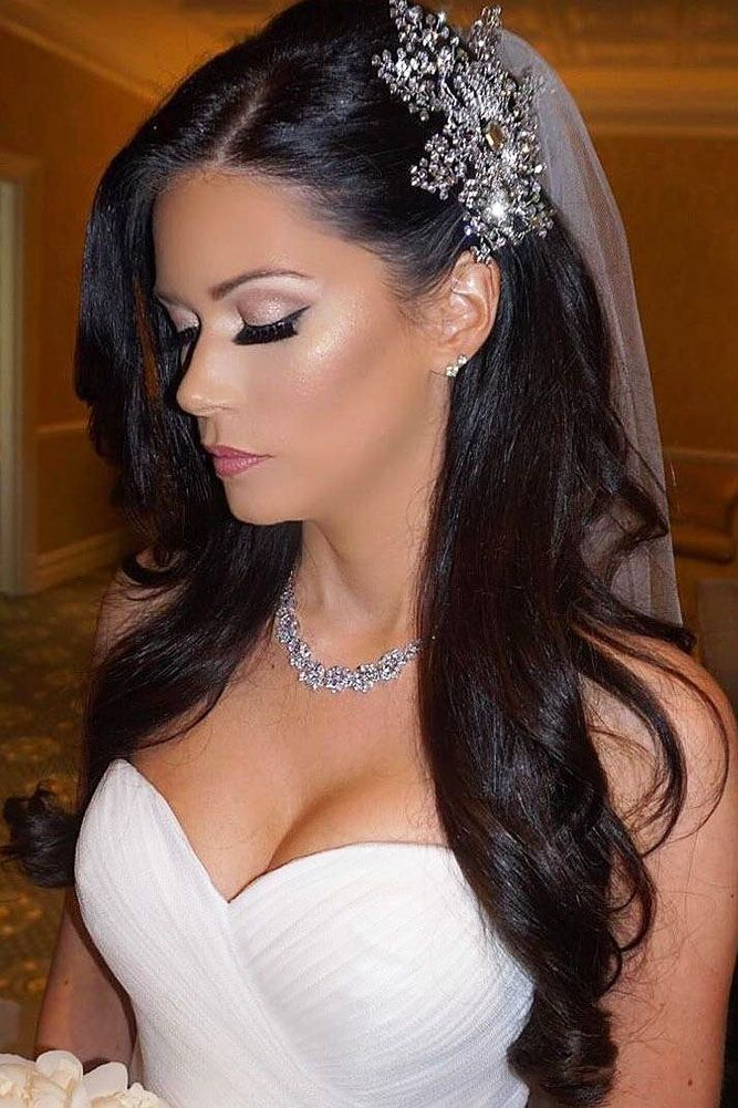 Exquisite Wedding Hairstyles With Hair Down See More Http