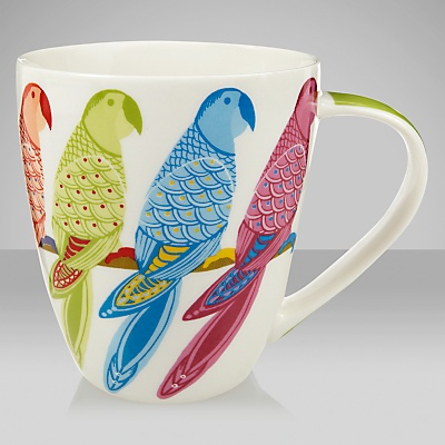 Buy Queens Parrot Paradise Mug online at JohnLewis.com - John Lewis