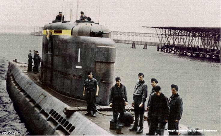 "The U-2501 was a Type XXI U-boat (The ""Elektroboote"") of the German Kriegsmarine, built for service in World War II. The submarine was laid down on 3 April 1944 at the Blohm & Voss yard at Hamburg, launched on 12 May 1944, and commissioned on 27 June 1944 under the command of Oberleutnant zur See Otto Hübschen, who commanded her for her entire career. U-2501 conducted no patrols, and was scuttled at 07:08 on 3 May 1945 at Hamburg. She suffered no casualties to her crew during her short…"