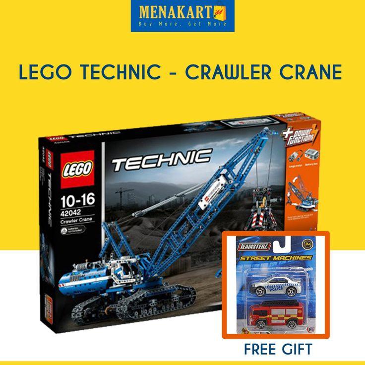 LEGO Technic - Crawler Crane #Toys #LEGO #Online #Shopping #Menakart