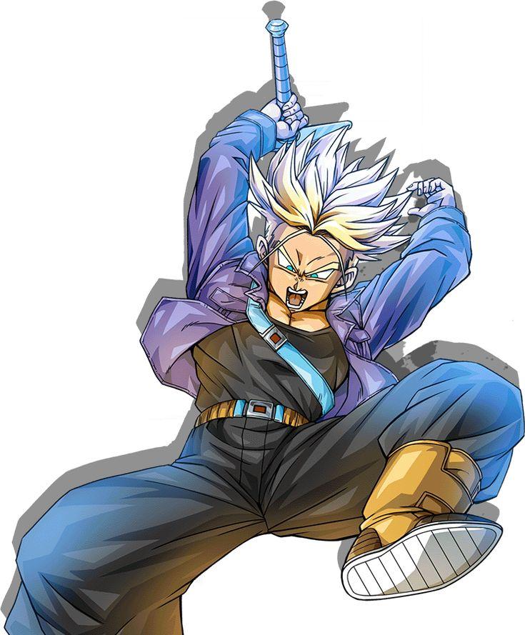 Future Trunks render [Bucchigiri Match] by maxiuchiha22