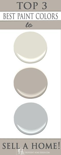 Professional Stager Shares her Top 3 Go-to-Paint Colors for Selling Homes!