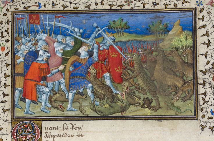 Alexander   Historia de proelis in a French translation (Le Livre et le vraye hystoire du bon roy Alixandre)   France, Central (Paris)   c. 1420