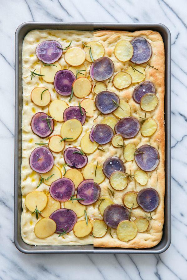 Potato & Rosemary Focaccia Bread | Love and Olive Oil
