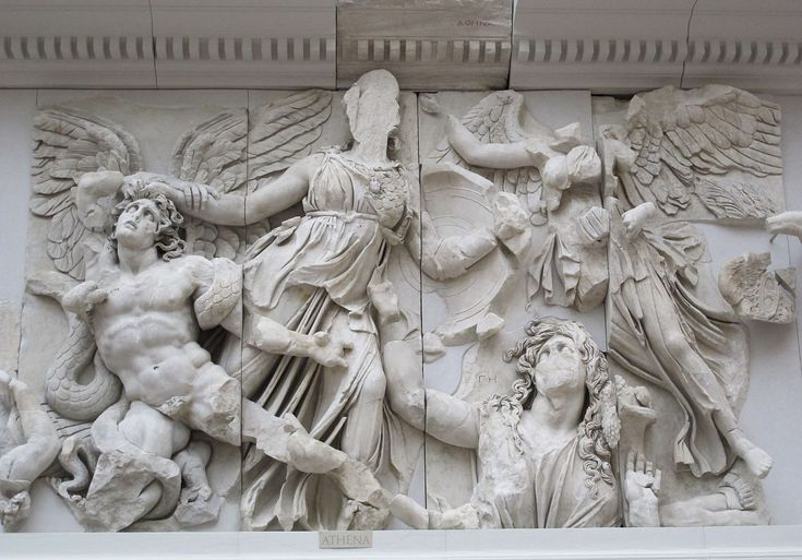 Fregio della gigantomachia 02 - 자이언츠 (그리스 신화) - 위키 백과, 우리 모두의 백과 사전