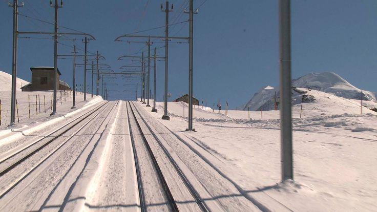 Zermatt to Gornergrat Railway - Driver's View Part 3