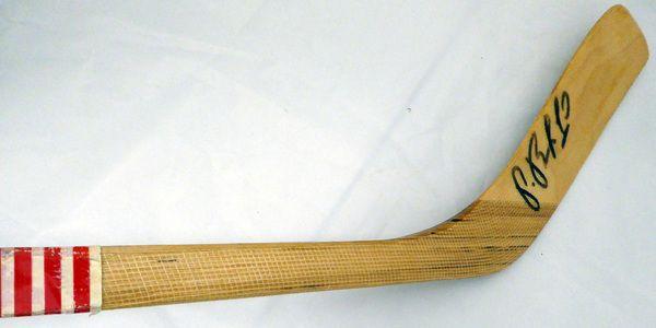 Pavel Bure & Eric Lindros Autographed Hockey Stick New York Rangers Beckett BAS #C71389