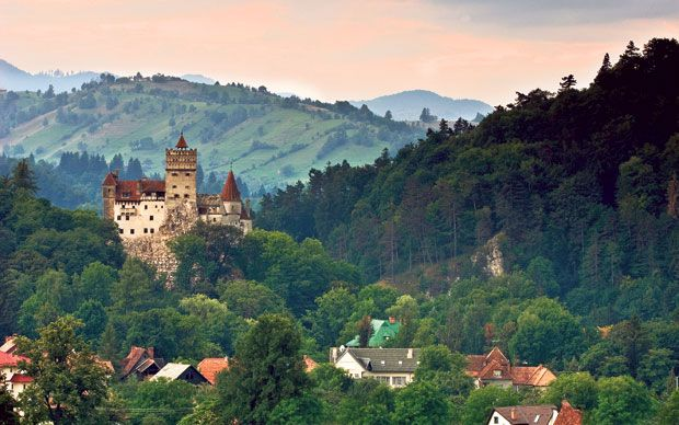 Fairy tale castles in Romania - one of the cheapest places to travel in Europe
