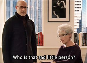 Who is that sad little person?