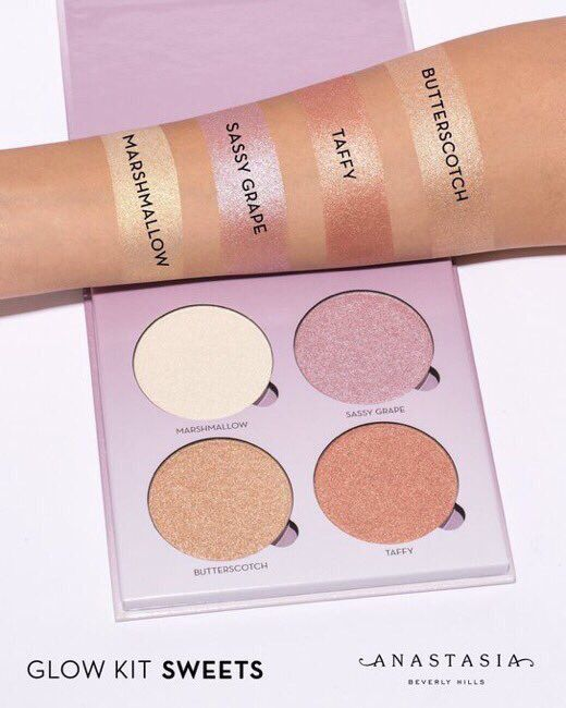 Anastasia Beverly Hills Glow Kit in Sweets - Absolutely love ABH Glow Kits! The highlighters are so creamy and pigmented. Sweets is my all time favorite. I love love love Marshmallow :)