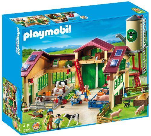 Playmobil 5119 La nouvelle ferme avec Silo Playmobil http://www.amazon.fr/dp/B004LNMLYK/ref=cm_sw_r_pi_dp_dN2rvb1CKF3F3