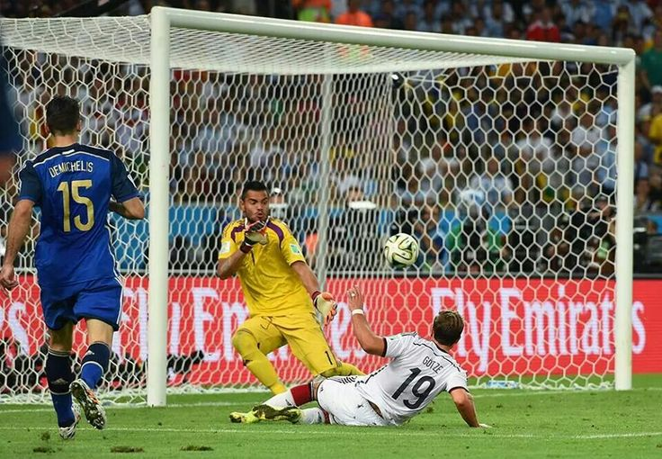 Goetze scoring goal Fifa 2014 world cup, World cup
