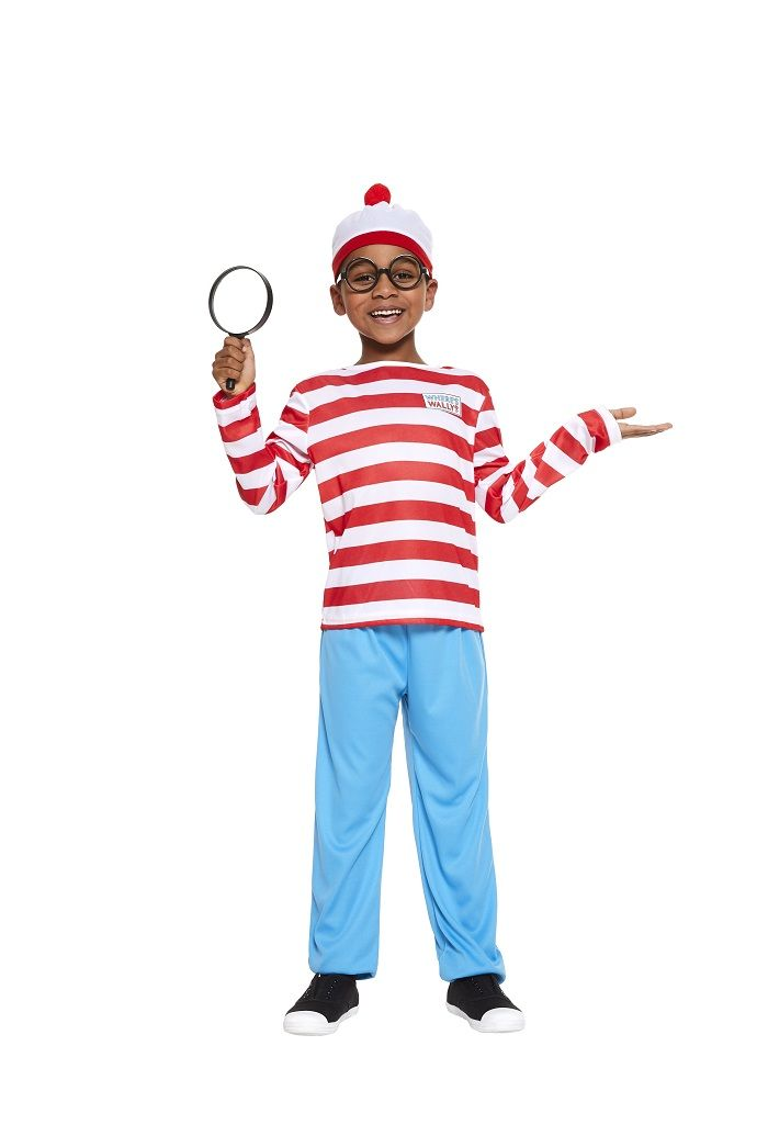 This Where's Wally costume from partydelights.co.uk makes a brilliant World Book Day costume idea. Perfect for anyone looking for a quick and easy fancy dress costume!