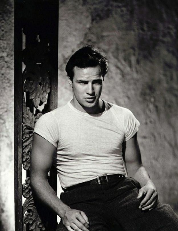 And smirky | Marlon Brando Was A Perfect Man