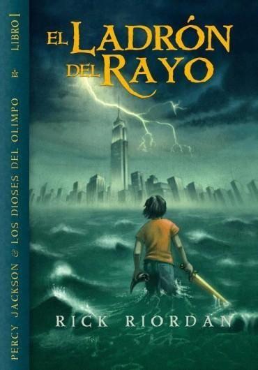 #1 Percy Jackson y los dioses del Olimpo: El ladrón del Rayo - Rick Riordan