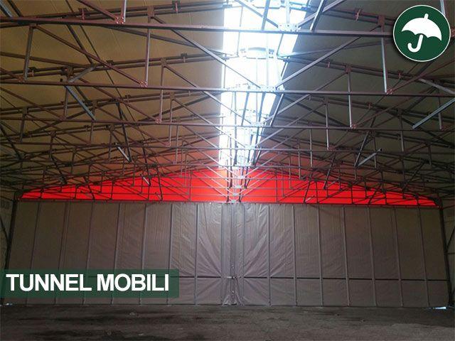 Nuova #installazione per Civert in Veneto. La.re.ter. sceglie i #tunnel mobili in pvc per ampliare i propri spazi.