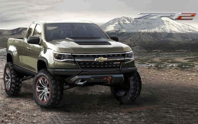 2020 Chevy Colorado ZR2 Prototype concept | Chevy colorado ...