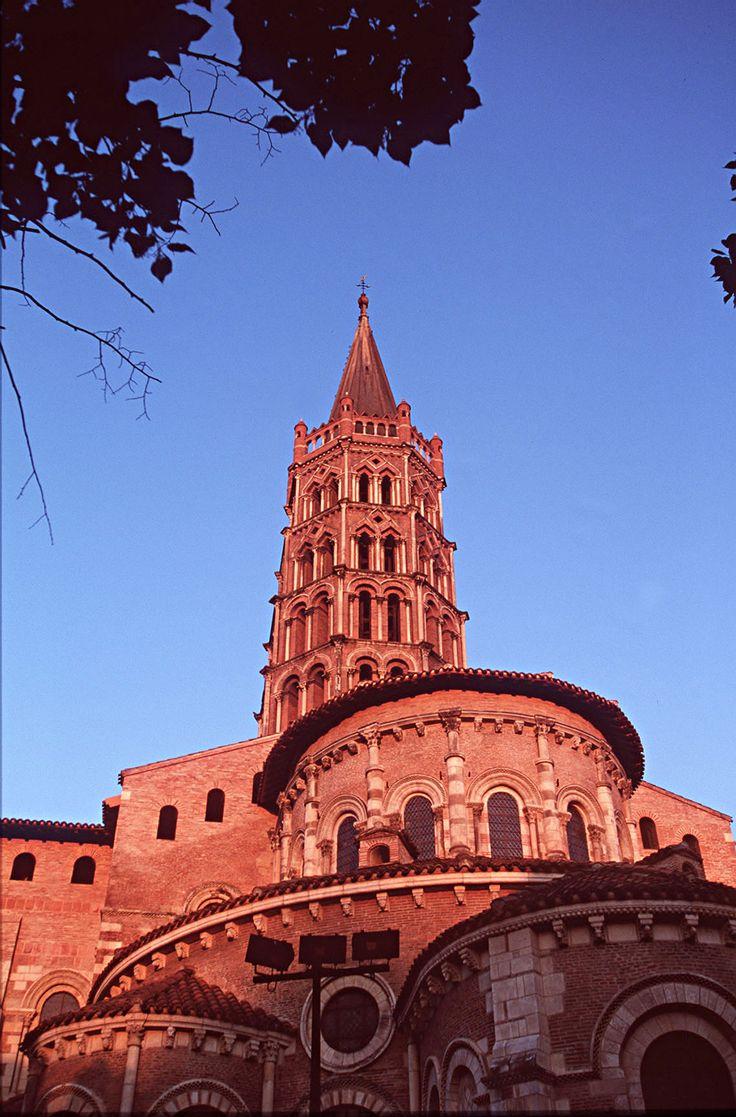 ❤ ℒℴvℯly St Sernin, Toulouse,(The Pink City) France.