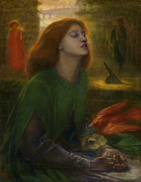 Dante Gabriel Rossetti - Beata Beatrix [c.1864-70]