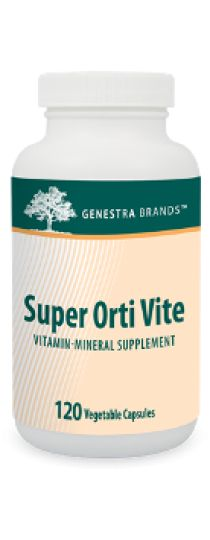 Super Orti Vite by Genestra  is a broad-spectrum formula containing an excellent proportion of vitamins, minerals, bioflavonoids, digestive enzymes and antioxidants needed for optimum health. The capsules are 100% pure vegetable-sourced.