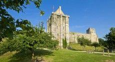Chateau médiéval de Saint Sauveur le Vicomte, (50) La Manche