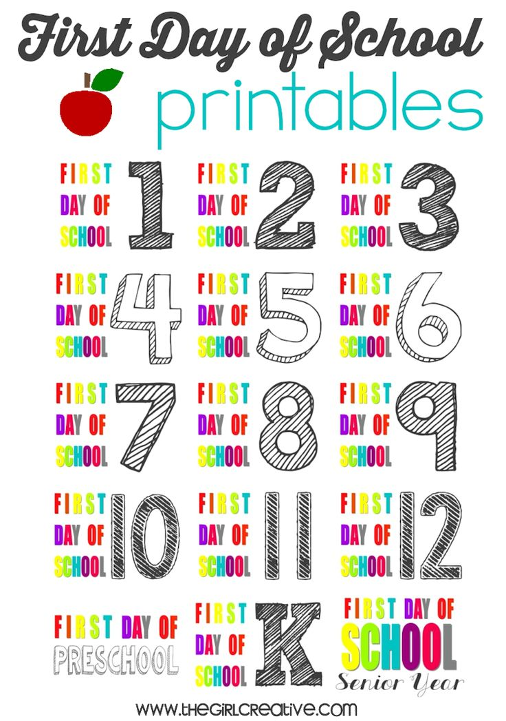 Free Printable First Day Of School Coloring Pages For Kindergarten : Best 20 first day printable ideas on pinterest