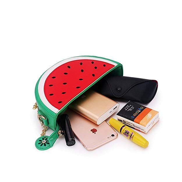30f3a6a0ce2 Latest Novelty Cute Watermelon Shape Shoulder Mini Bag for Women ...