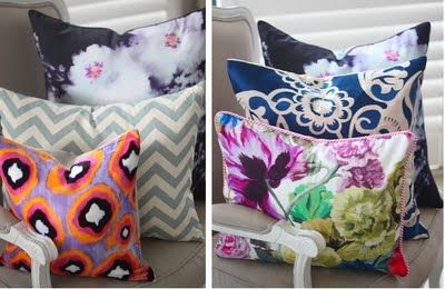 Cushions combinations