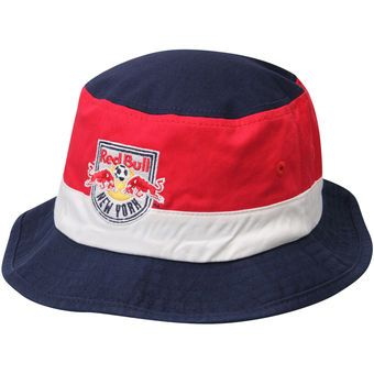 New York Red Bulls adidas Team Logo Bucket Hat