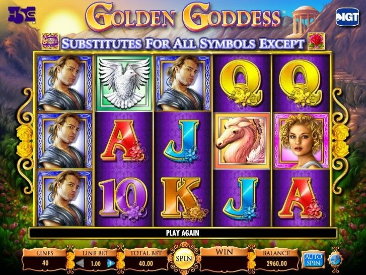 New Golden Goddess slot - http://cp4w.com/igt-slots/golden-goddess.html