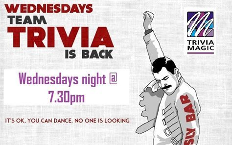 #TriviaMagic is back  every Wednesday from 7:30pm come down and test your #Brainpower & #knowledge prizes to be won!!!! Also $12 Steak Night now that's what I call a good night  #steaknight #steakdeals #steakSydney #dailydeals