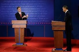 Debating against each other