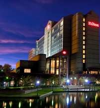 Hilton University Place NC. Very nice hotel not to much in the area but the accommodations were very nice.