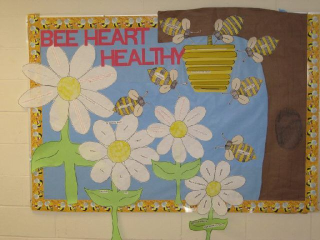 bee bulletin board - Kitchen Bulletin Board Ideas