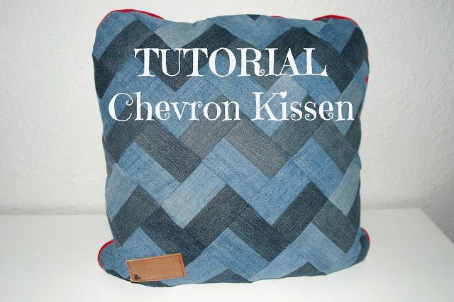 Hauptstadtmonster: TUTORIAL Chevron Kissen