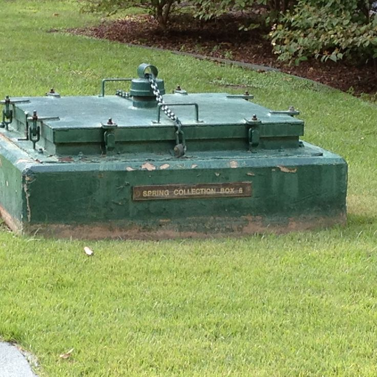 Cisterna de aguas termales
