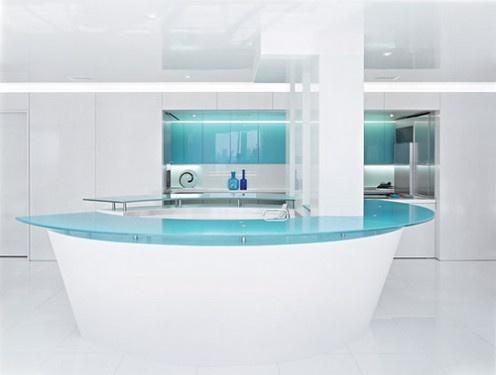 die 43 besten bilder zu futuristic interior design auf pinterest ... - Weisse Wohnung Futuristisch Innendesign