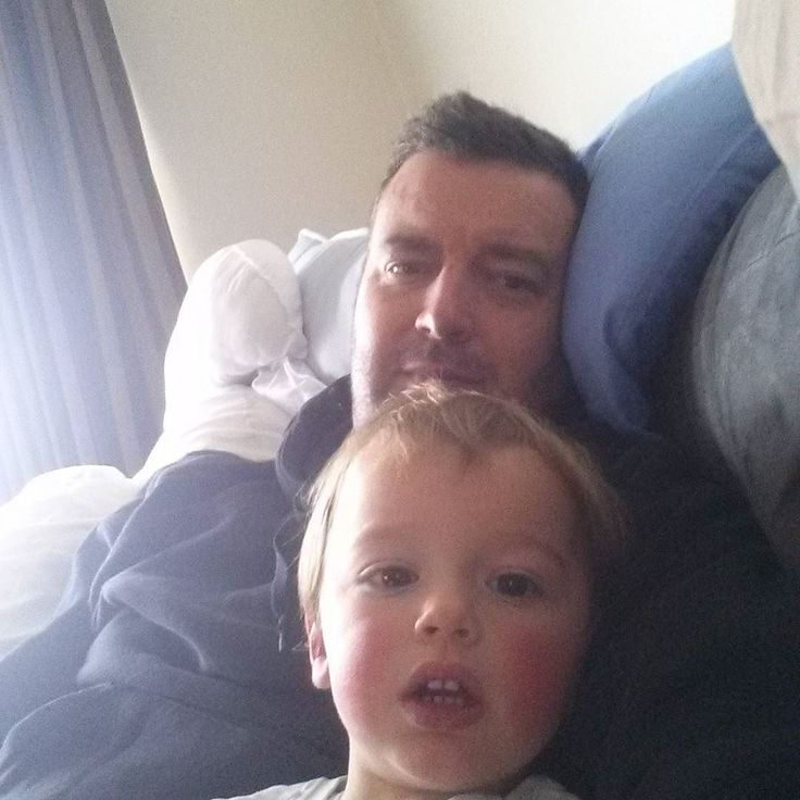 Hanging out with my #sick #little #man. #couchtime and #abckids